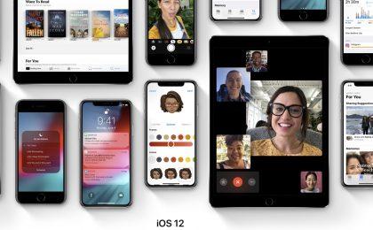 iOS 12: tutte le novità per iPhone e iPad