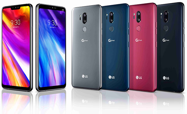 LG G7 colorazioni