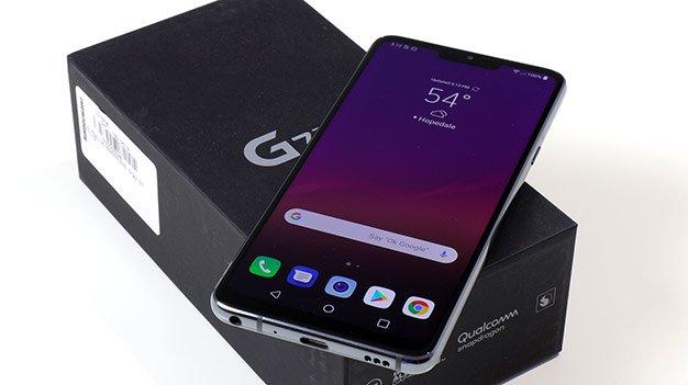 LG G7 confezione
