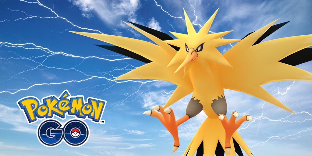 Zapdos Day: incubatori gratis e i migliori di Pokemon Go