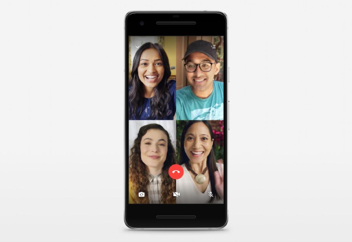 WhatsApp videochiamate di gruppo più semplici su Android e iPhone