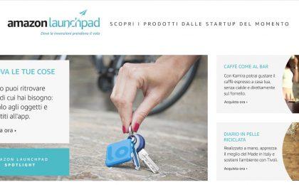 Amazon Launchpad: arriva in Italia il negozio per le startup