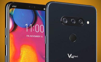 LG V40 ThinQ: prezzo, uscita in Italia e scheda tecnica ufficiali