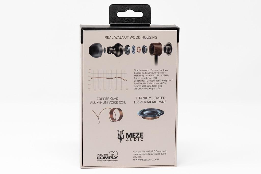Meze Audio 12 Classics retro confezione