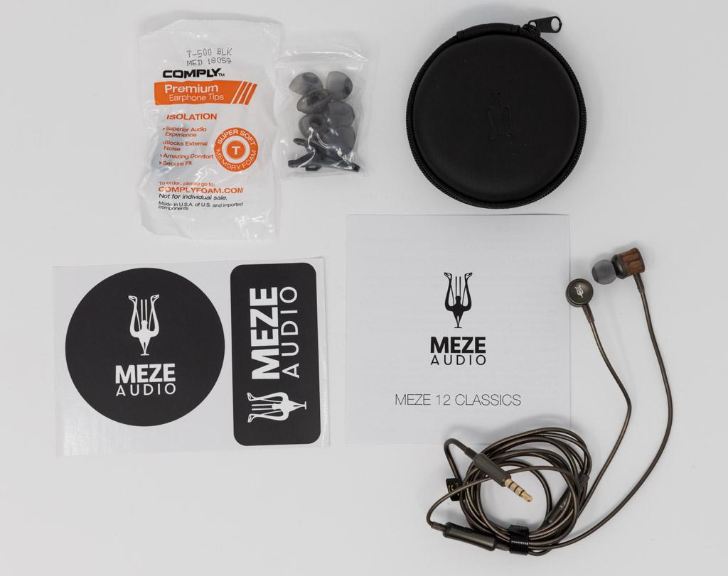 Meze Audio 12 Classics unboxing contenuto confezione