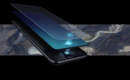 Samsung Galaxy P30 e P30+ con lettore impronte sotto al display