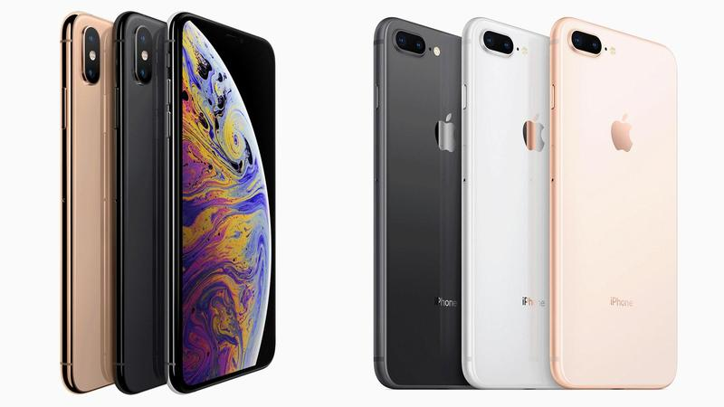 iPhone XS Max vs iPhone 8 Plus: il paragone tra i due top di gamma