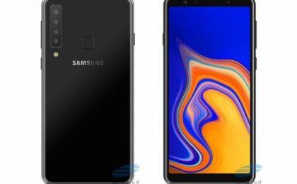 Samsung Galaxy A9S con quattro fotocamere: la possibile scheda tecnica