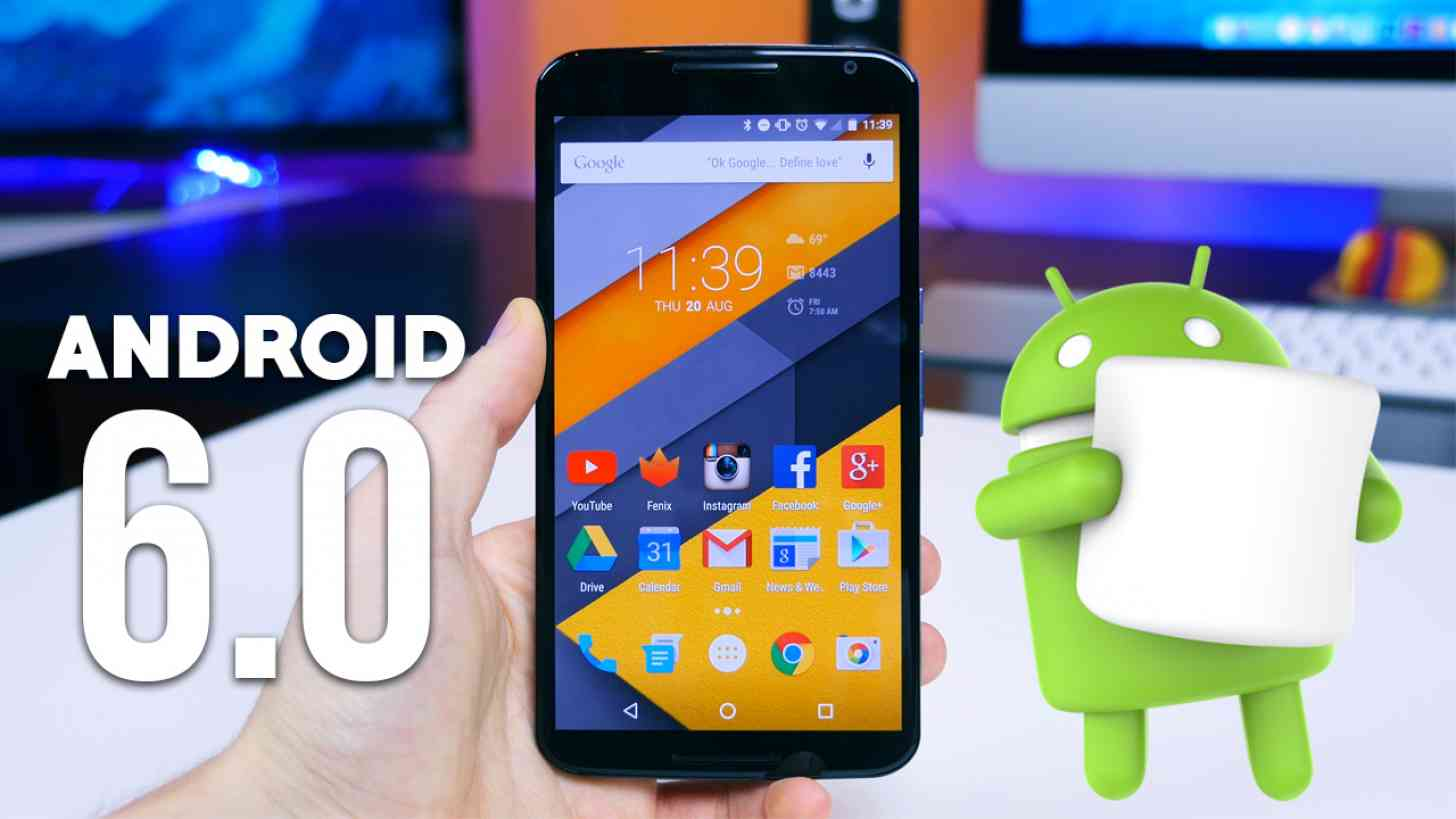 Android 6.0 Marshmallow Nexus