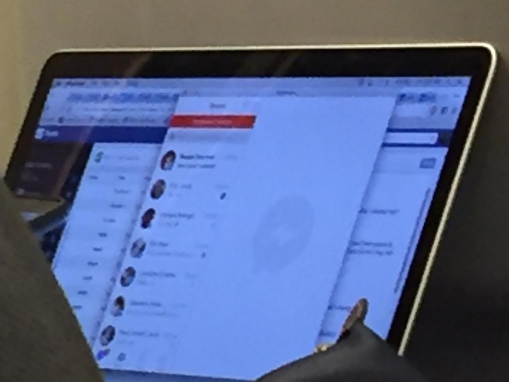 App Facebook Messenger su Mac