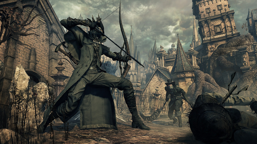 Bloodborne The Old Hunters bow