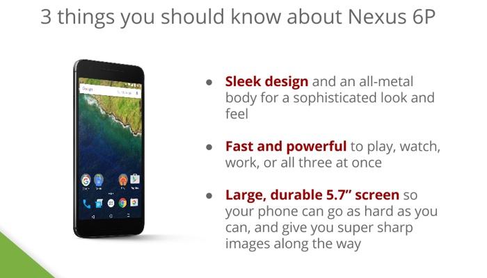 Caratteristiche Nexus 6P