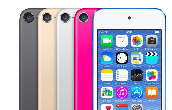 Colori iPod Touch 2015