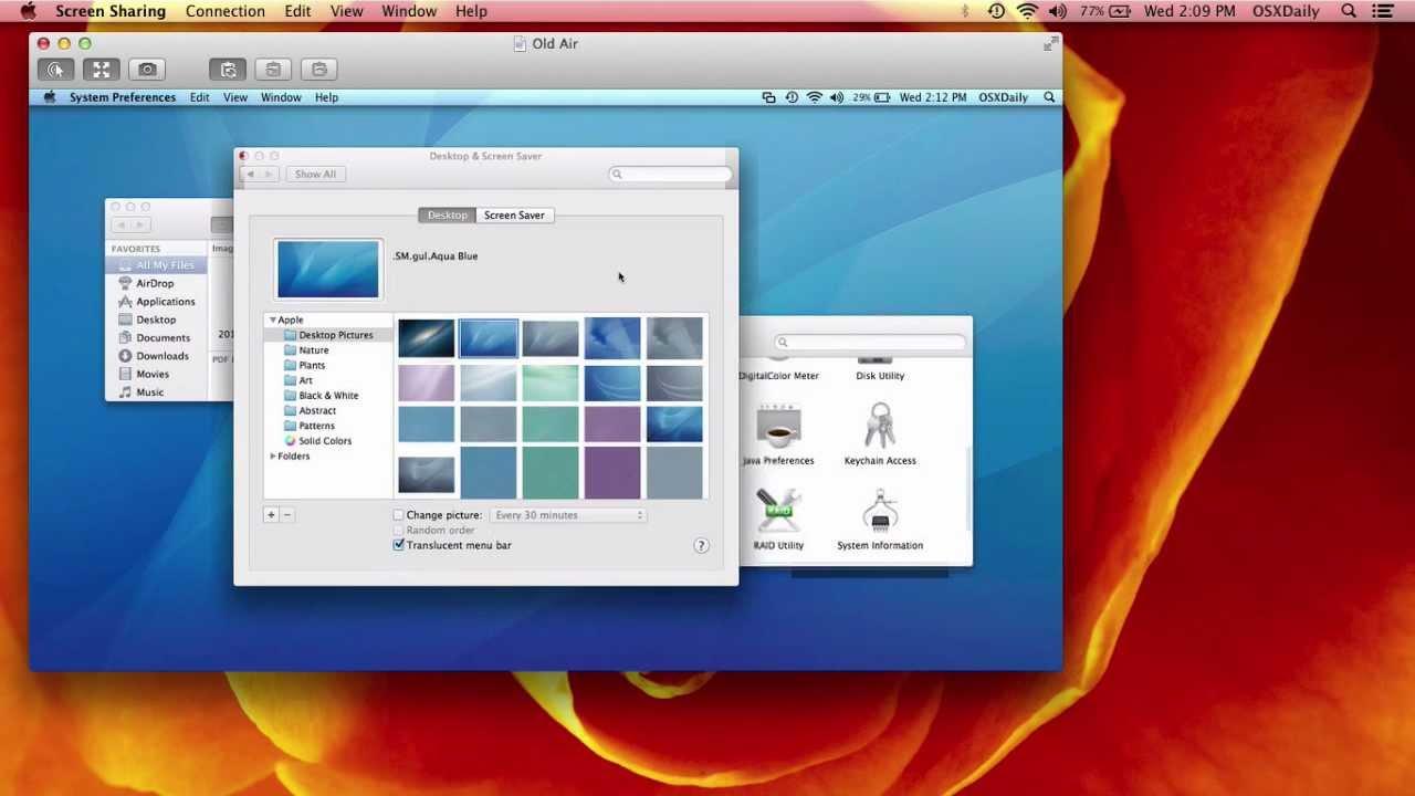 Condivisione Schermo Mac