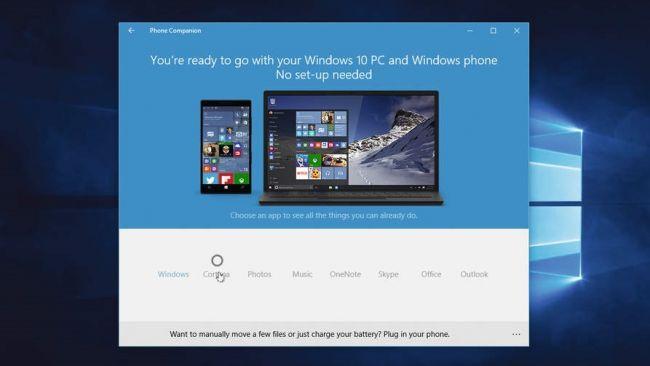 Connettere Windows 10 e smartphone