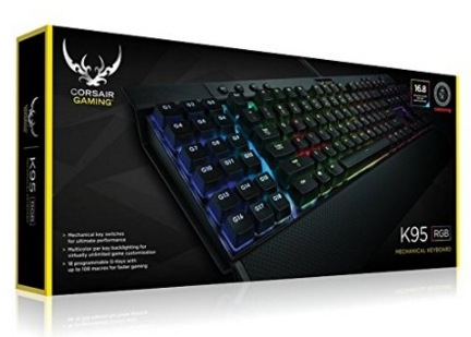 Corsair Gaming K95 RGB Cherry MX Red