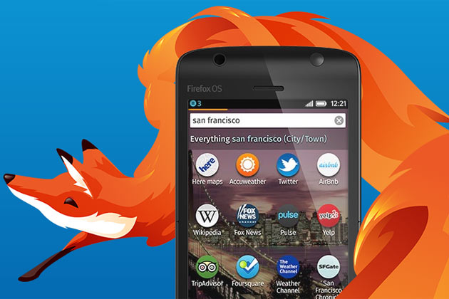 Firefox OS su smartphone
