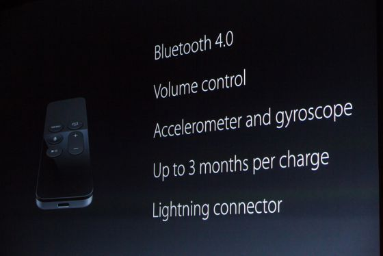 Funzionalità Apple TV