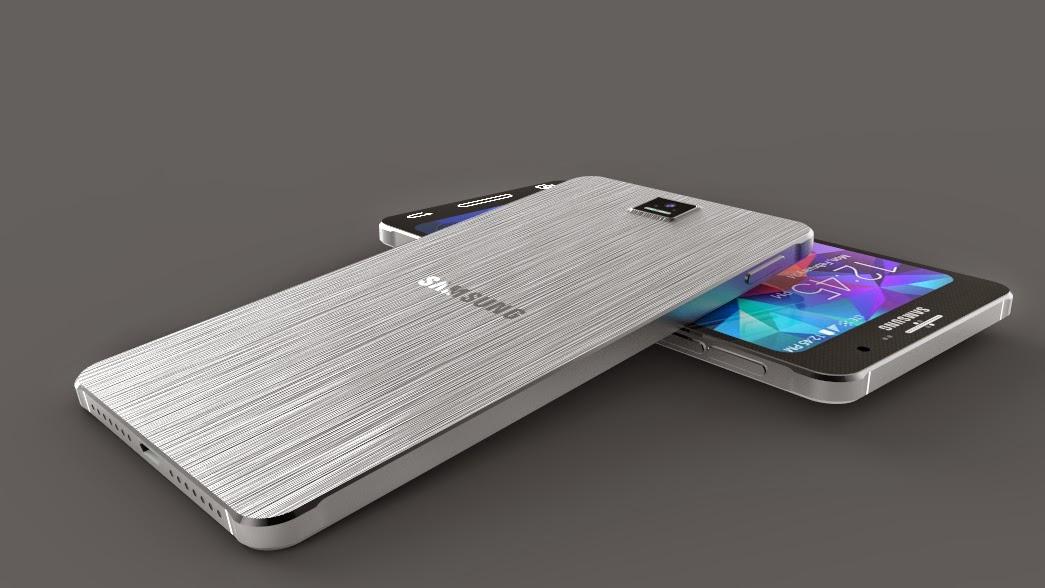 Galaxy S7 design