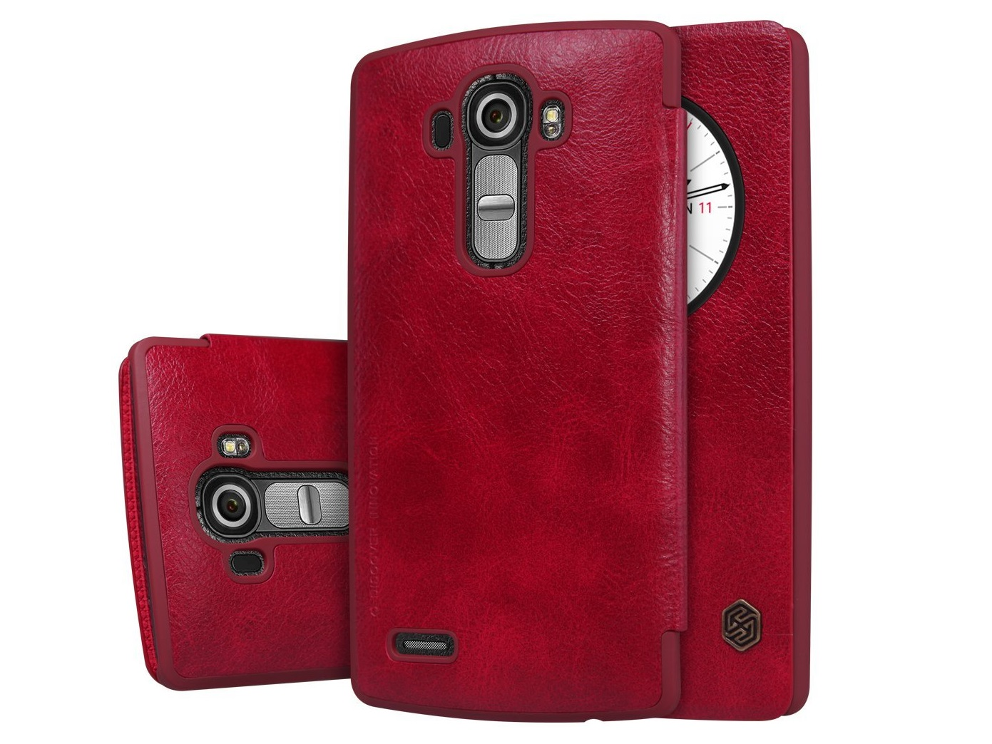 HM ANT Natural Texture Leather Case