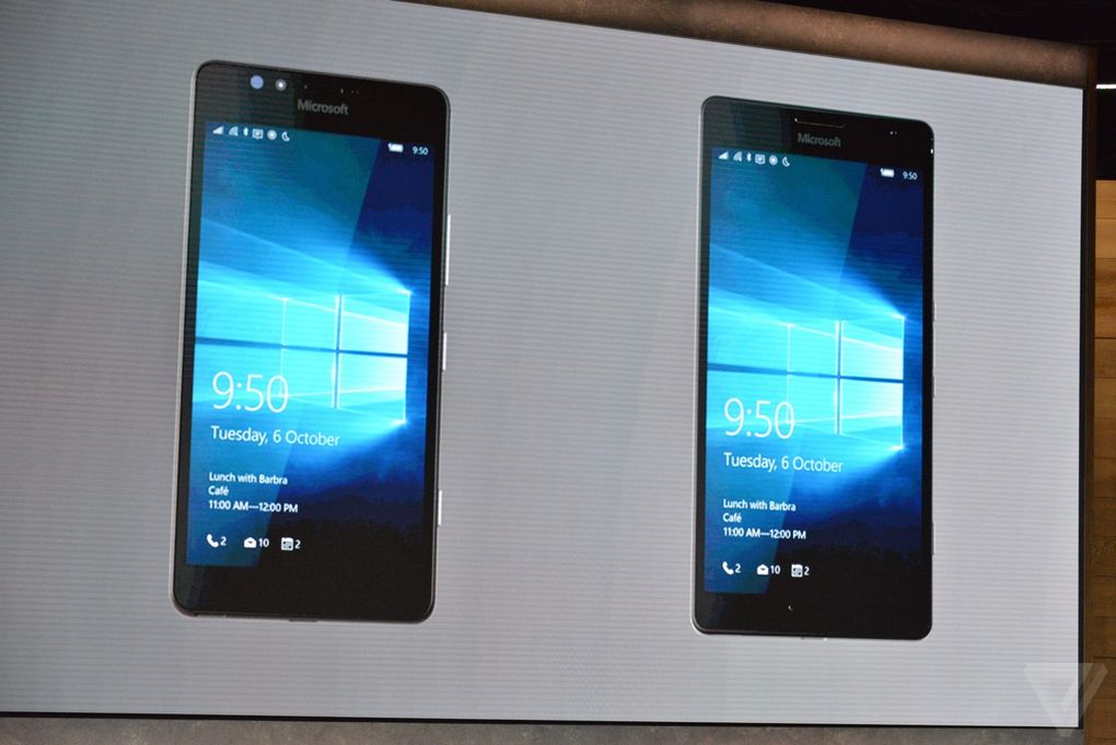 Hardware Lumia 950 vs Lumia 950 XL