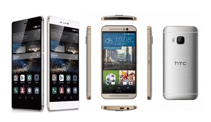 Huawei P8 vs HTC One M9