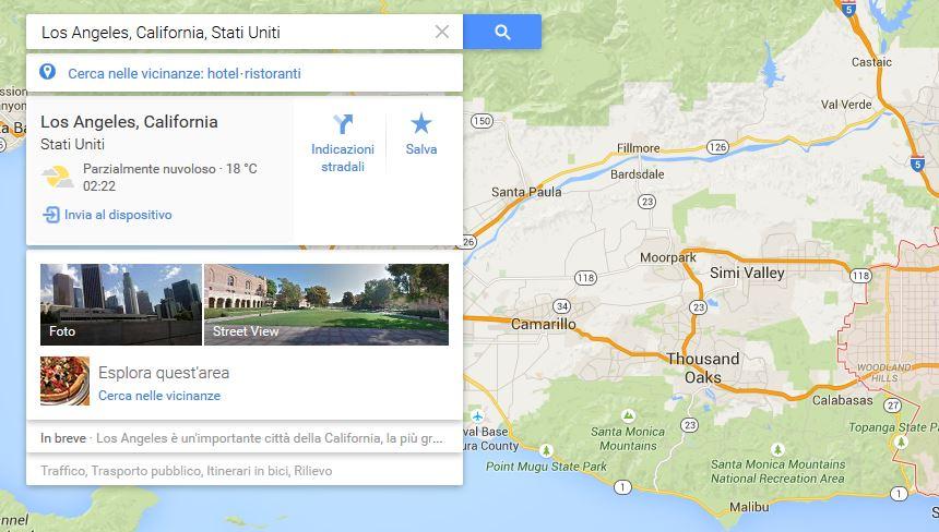Inviare coordinate Google Maps da PC a smartphone