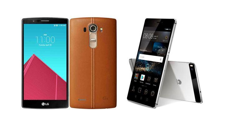 LG G4 vs Huawei P8