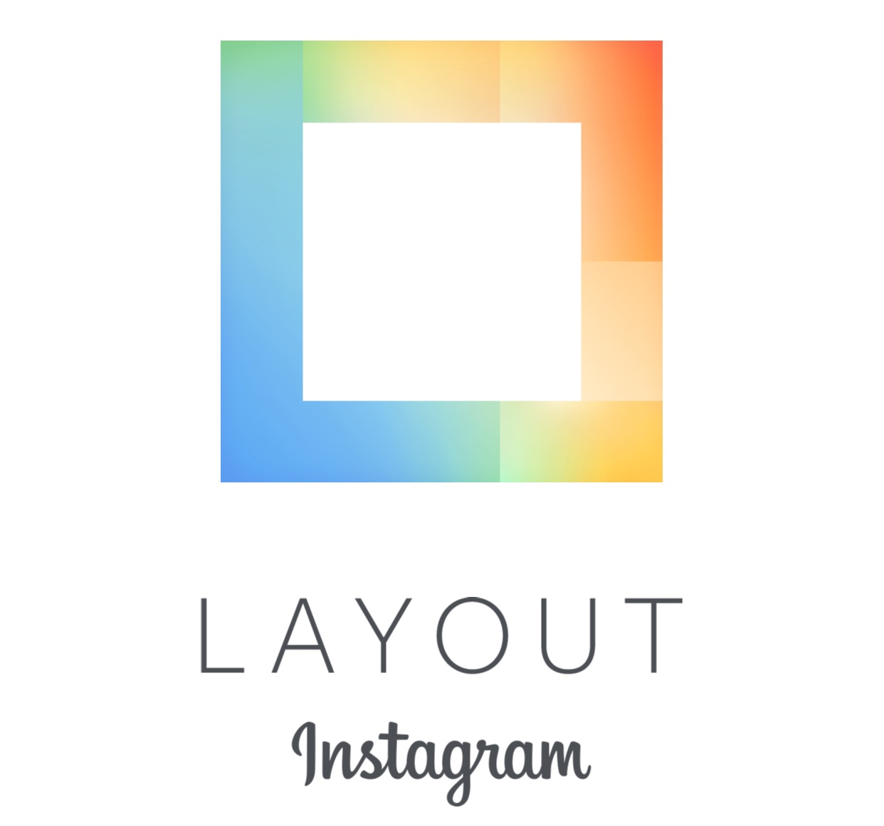 Logo Instagram Layout