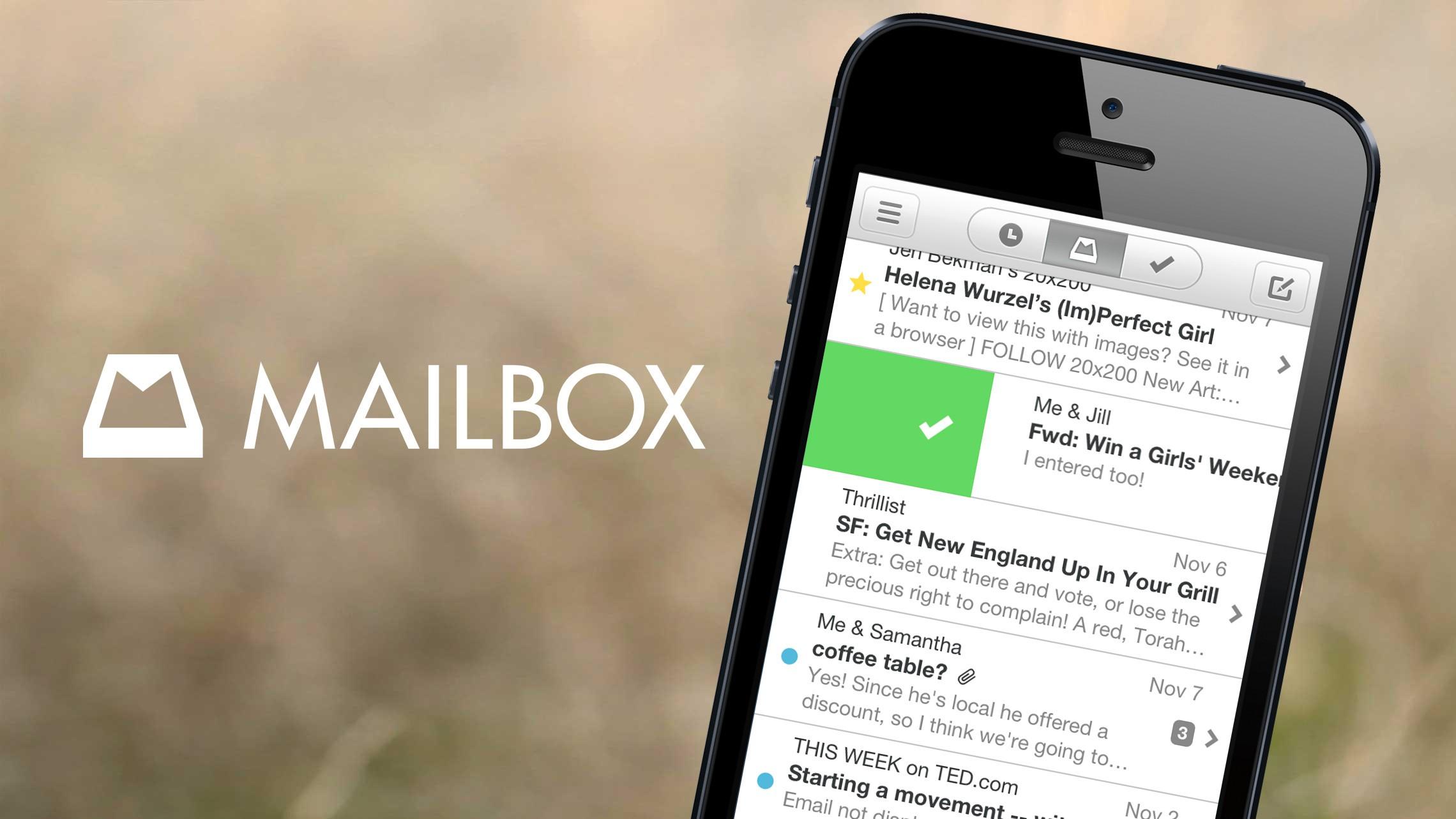 Mailbox di Dropbox