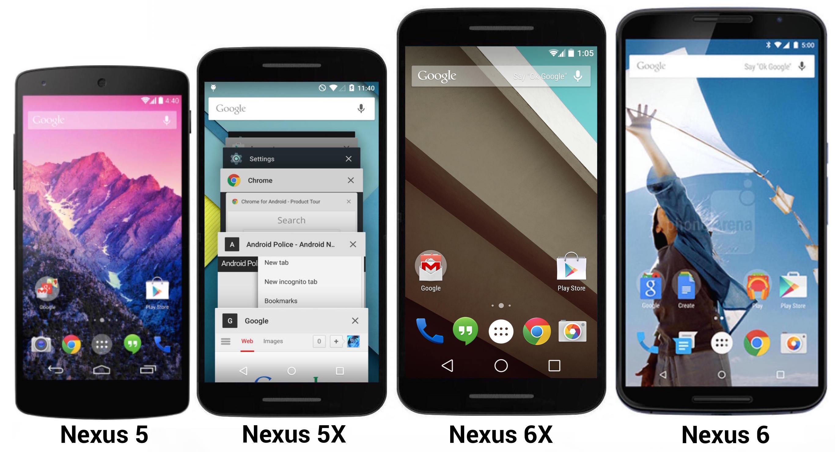 Nexus 5X dimensioni