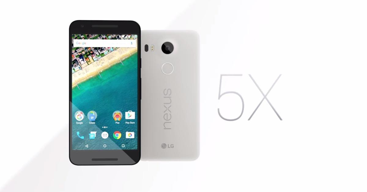 Nexus 5X immagine