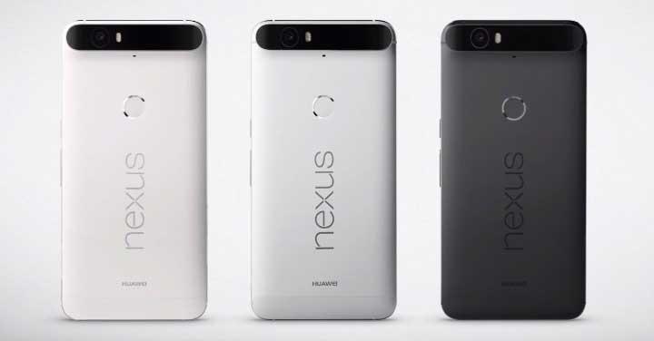 Nexus 6P Colori
