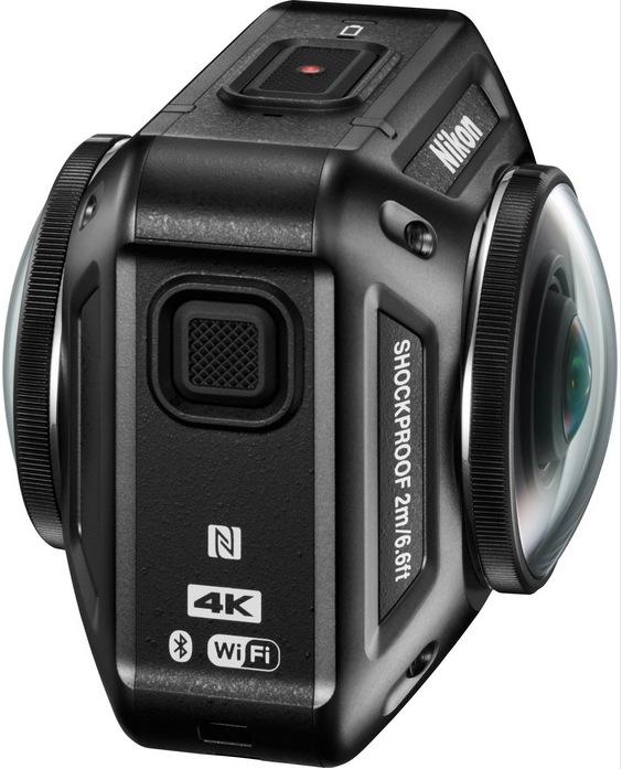 Nikon Nikon KeyMission 360 design