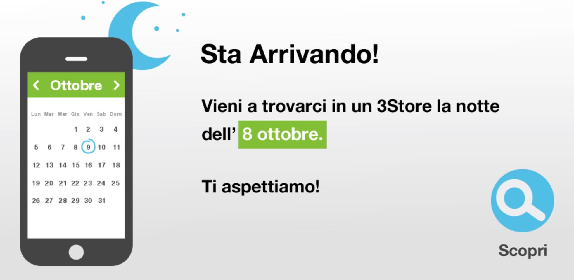 Notte Bianca iPhone 6s 3 Italia