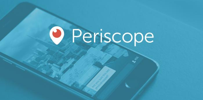Periscope social network