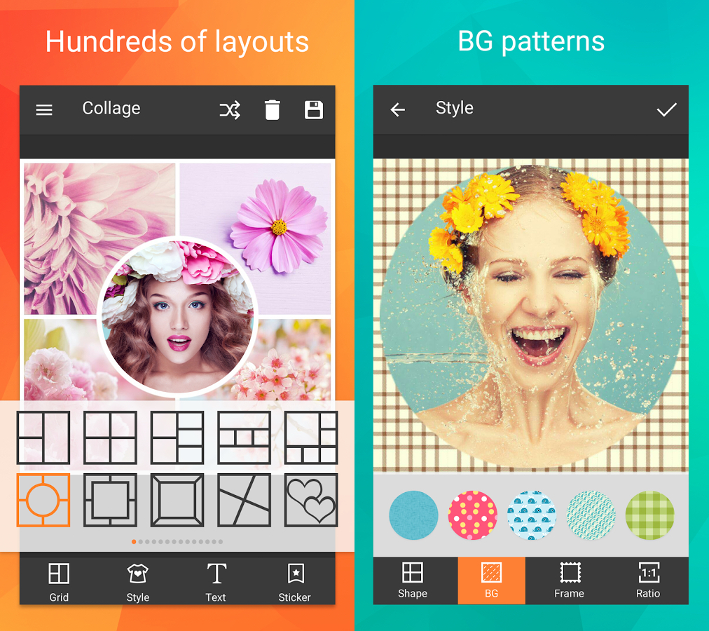 Photo Collage editor Android