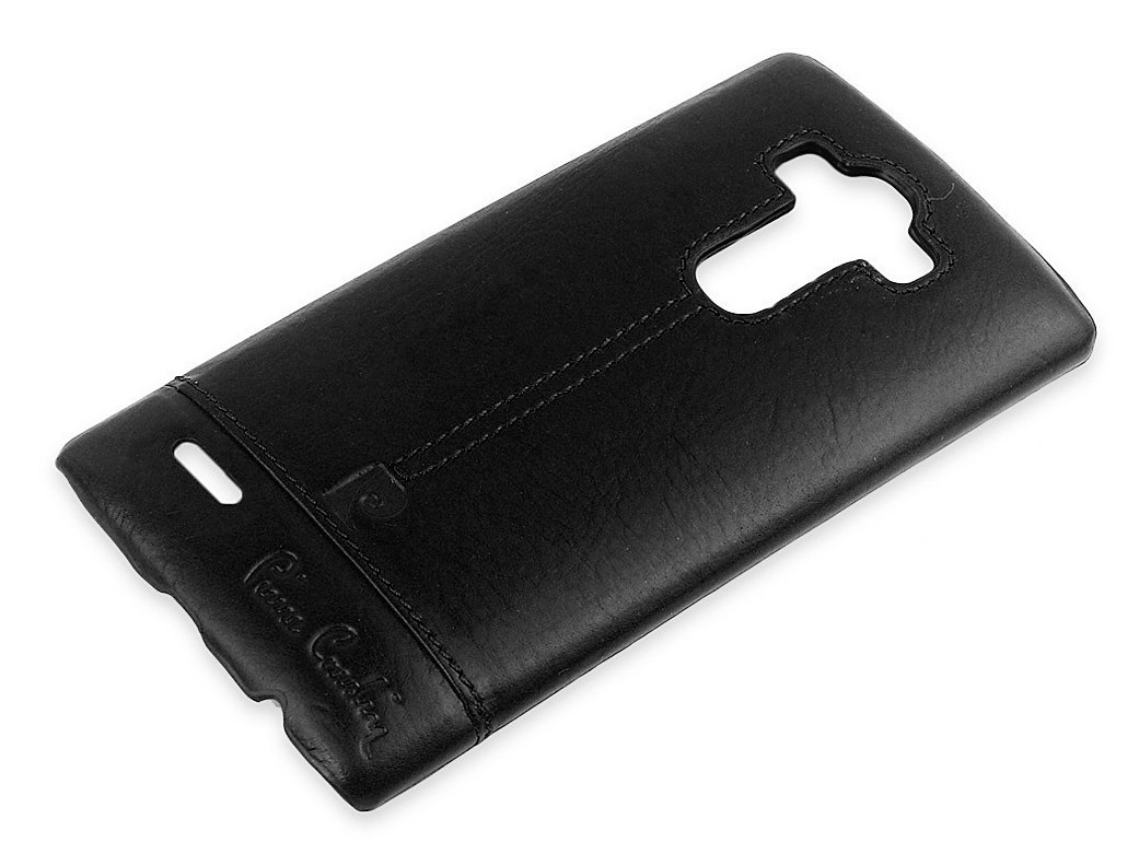 Pierre Cardin Genuine Leather Back Cover For LG G4