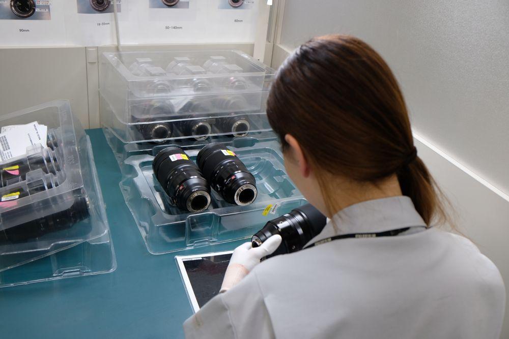 Produzione ottiche FujiFilm
