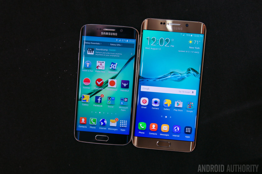 Samsung Galaxy S6 Edge Plus vs Samsung Galaxy S6 Edge