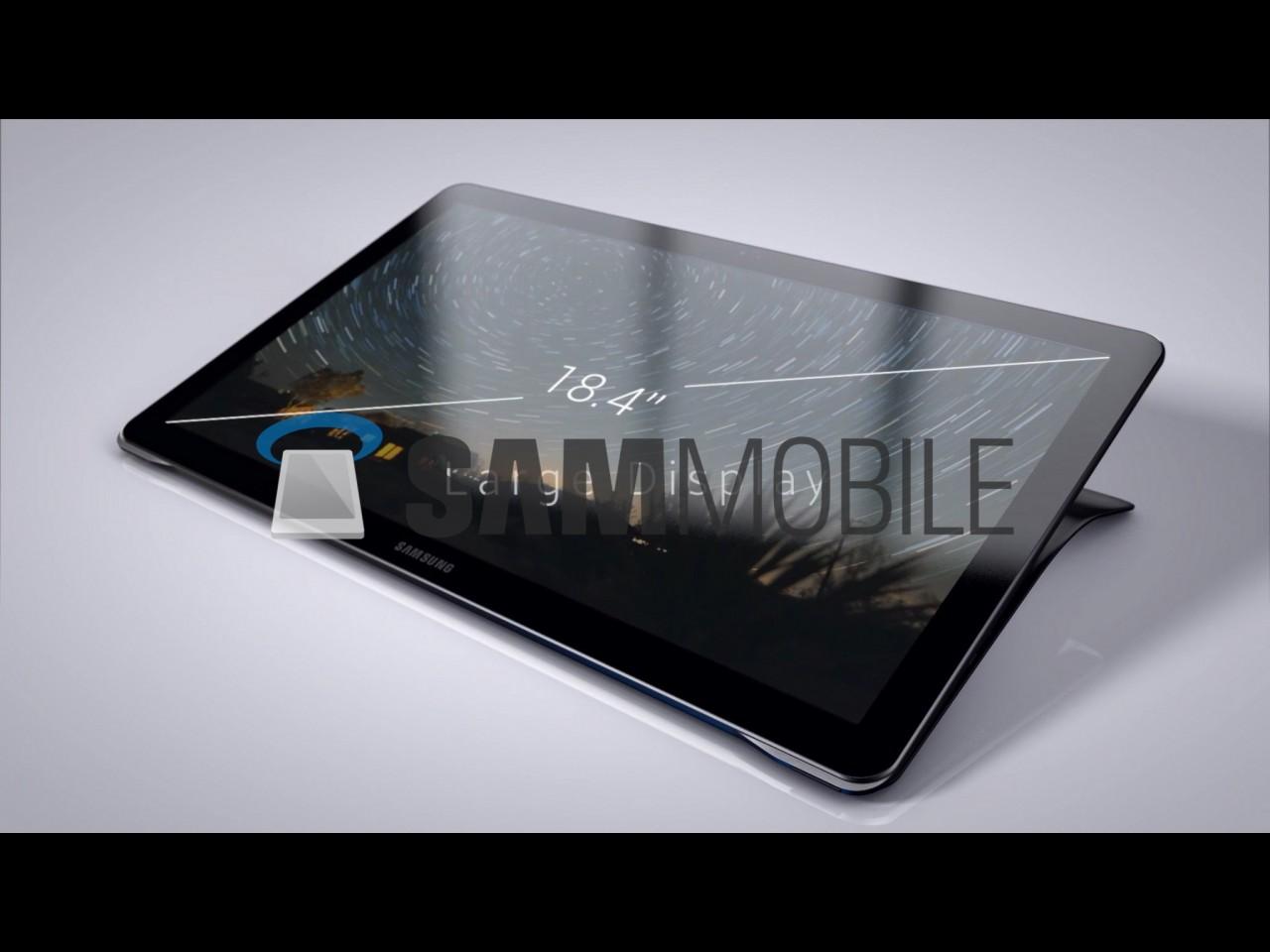 Samsung Galaxy View display