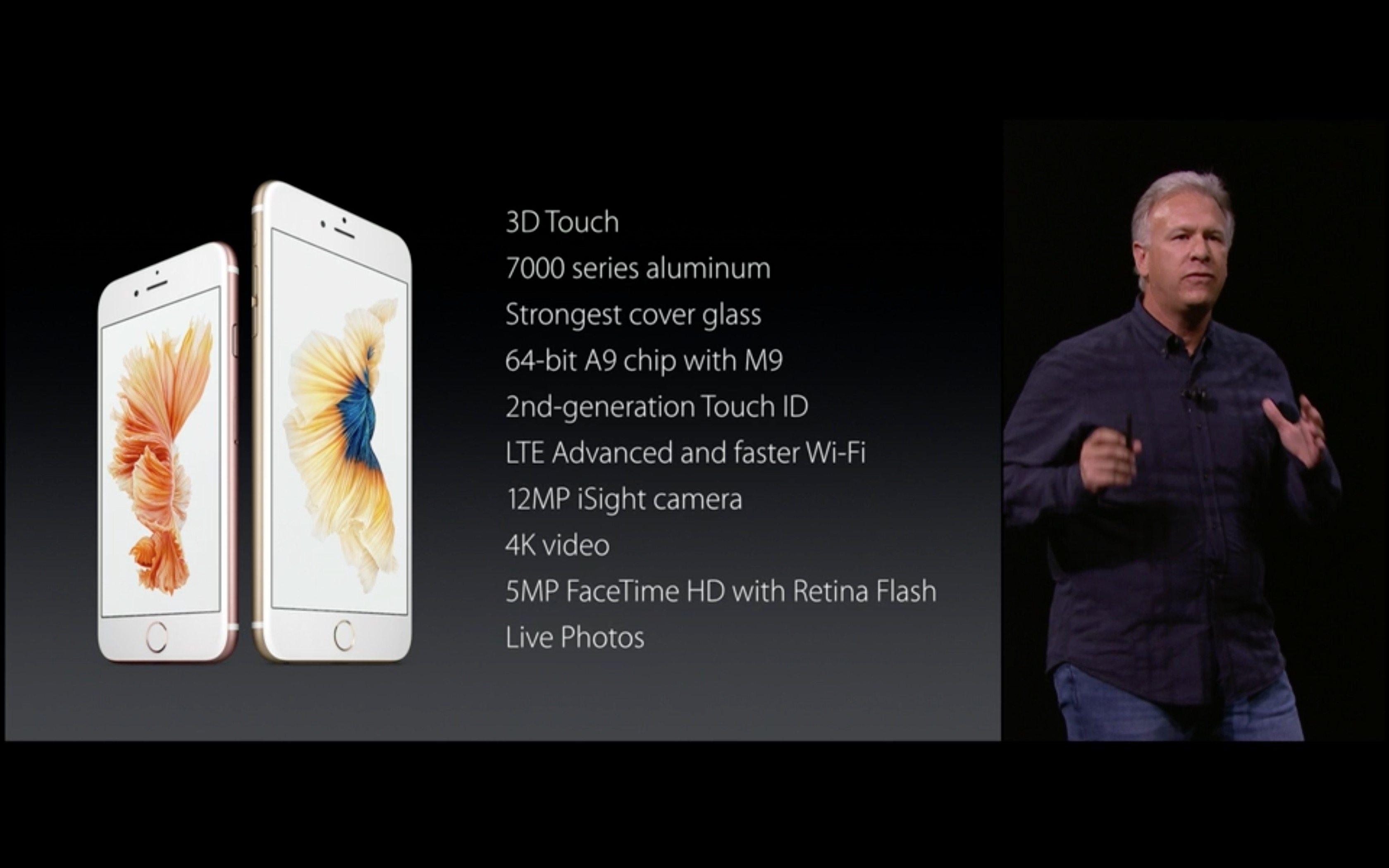 Specifiche tecniche iPhone 6s