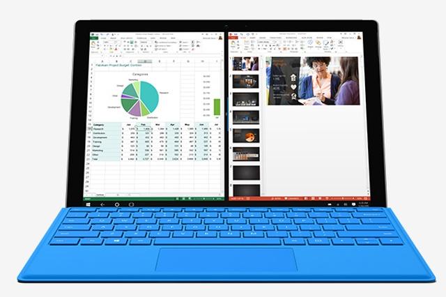 Surface Pro 4 a Macbook Air