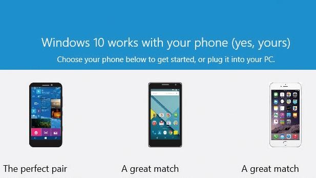 Windows Phone, Android e iOS