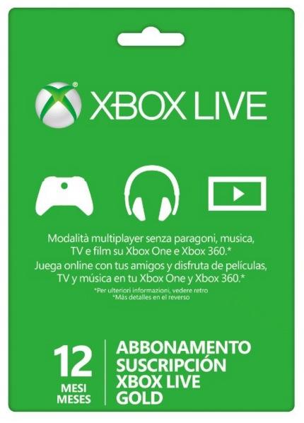 Xbox Live 12 mesi