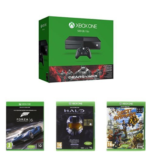 Xbox One + Gears of War + Forza Motorsport 6