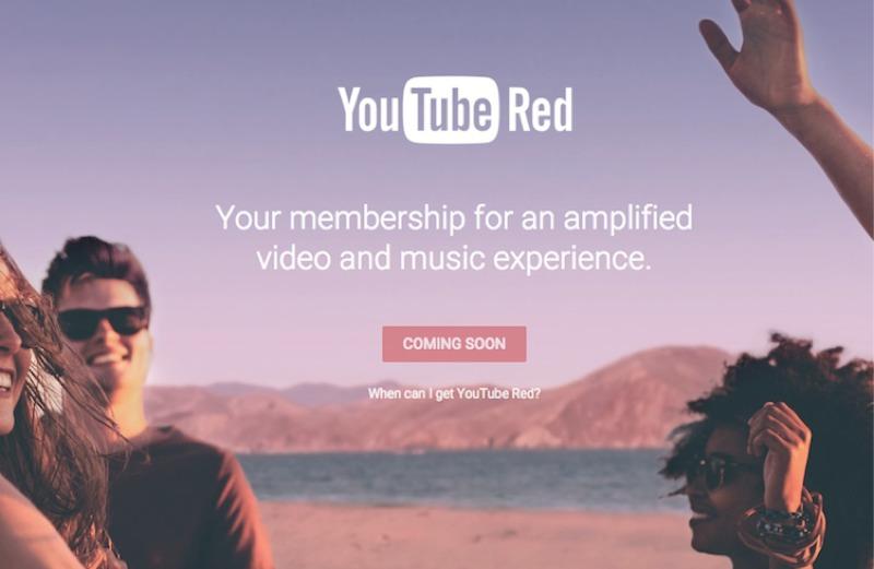YouTube Red abbonamento