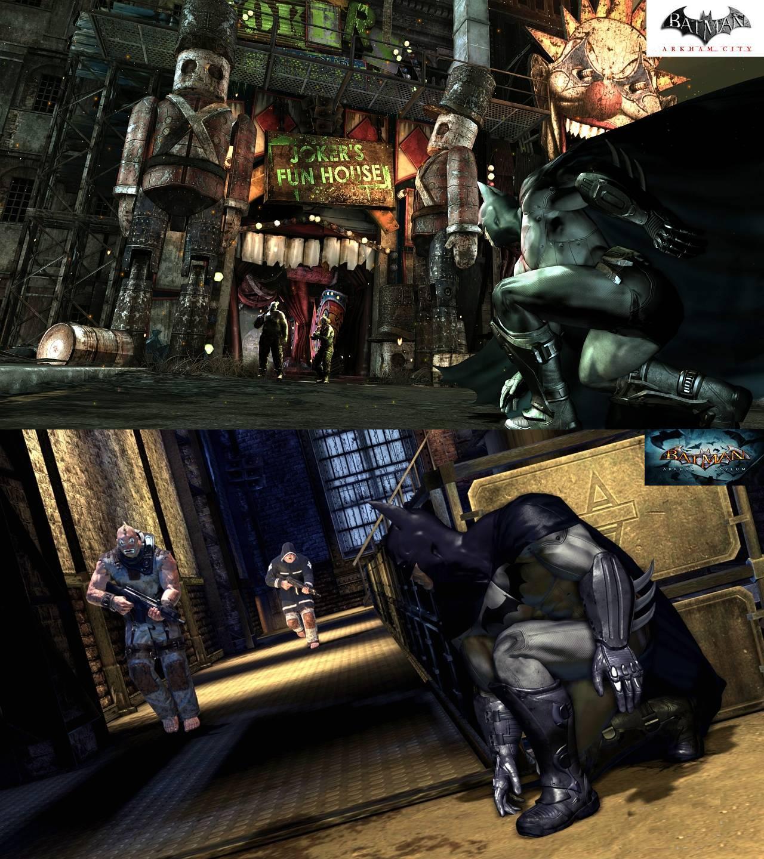 batman asylum e city