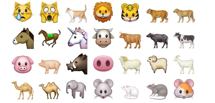 emoji_iphone_animali_e_natura