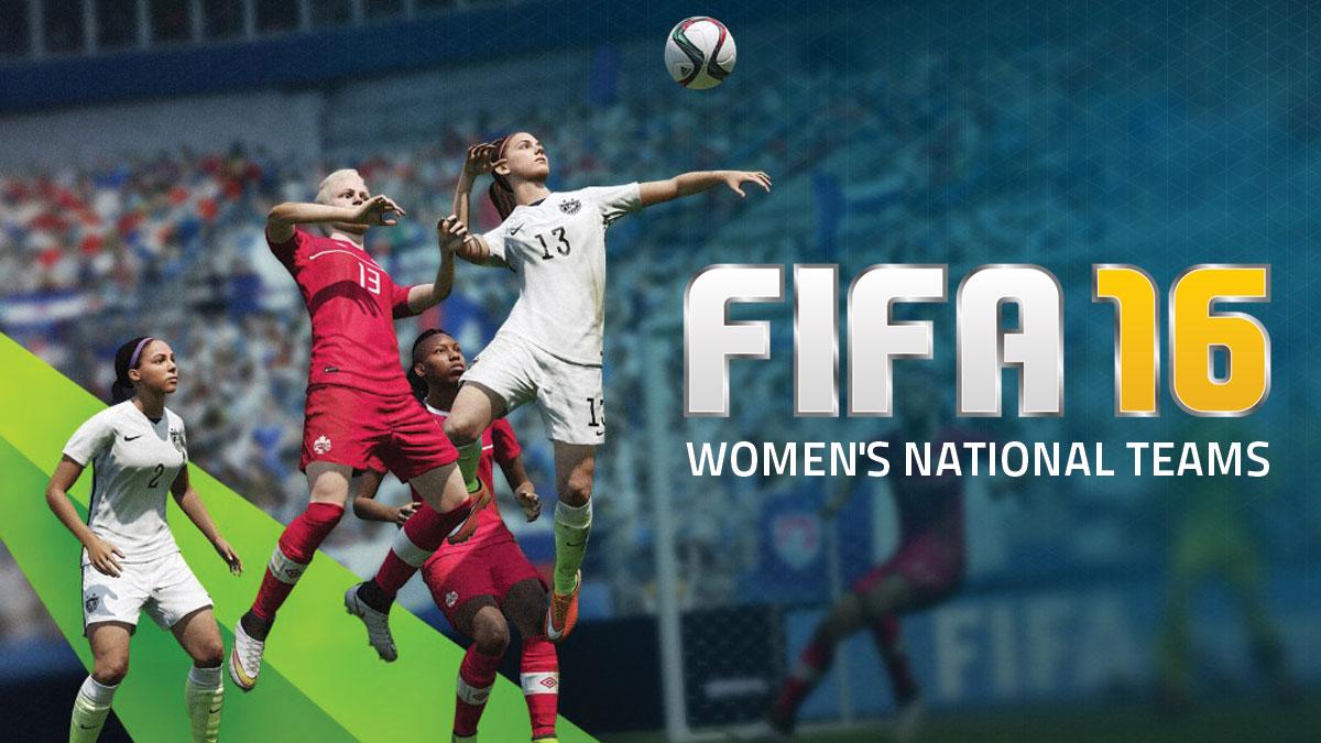 fifa 16 women teams